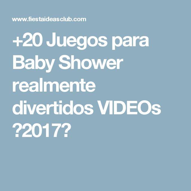 +20 Juegos para Baby Shower realmente divertidos VIDEOs 【2017】