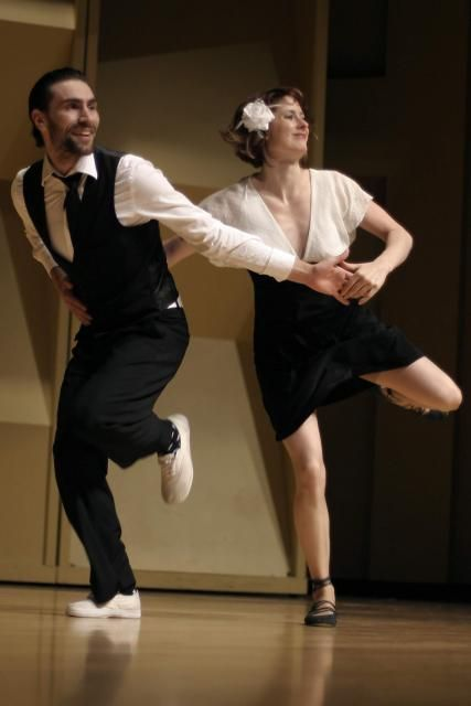 Swing Dance - Max and Annie