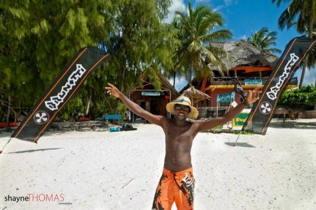 Kite center in Page, Zanzibar