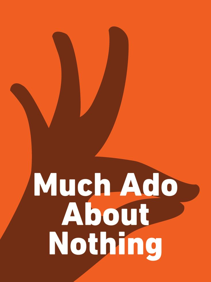 Much ado about nothing love and