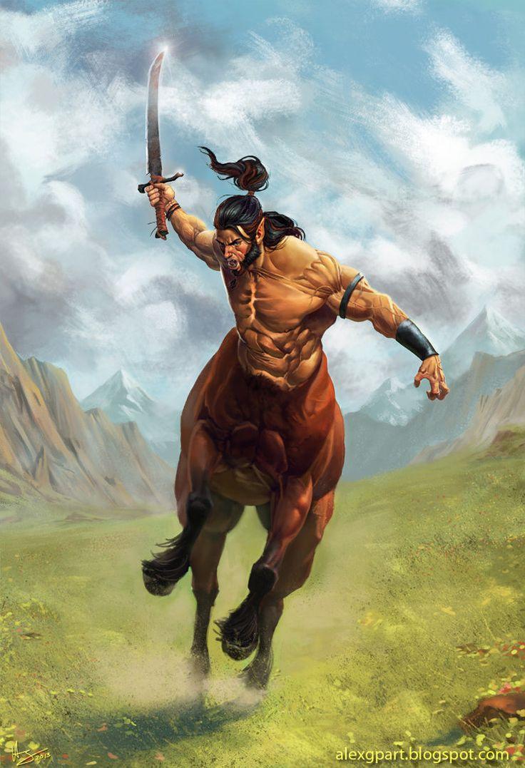 Centaur charge by Toramarusama.deviantart.com on @DeviantArt