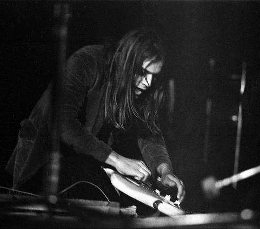 David Gilmour, Pink Floyd - A Saucerful of Secrets, 1970