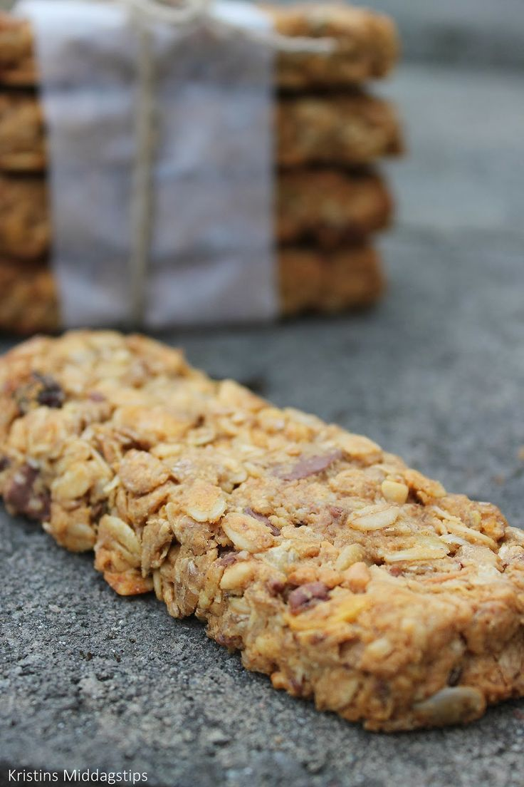Energy bars with peanut butter, chocolate and fresh coconut