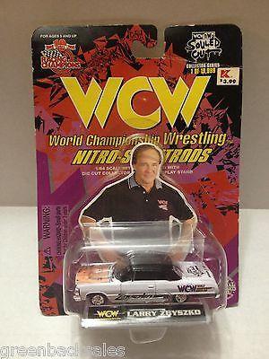 (TAS009680) - 1998 Racing Champions WCW Nitro-Street Rod Car - Larry Zbyszko