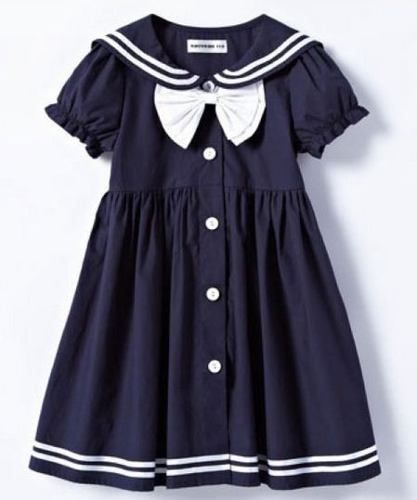 Vestido Infantil Gola Marinheiro Pesquisa Google Roupa