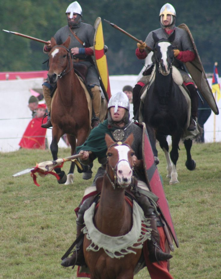 Norman cavalry battle of Hastings
