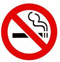 Función informativa: Identificar, indicar, describir, comunicar, etc. Señal que indica que no se puede fumar.