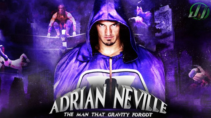 The man that gravity forgot Adrian Neville HD Background
