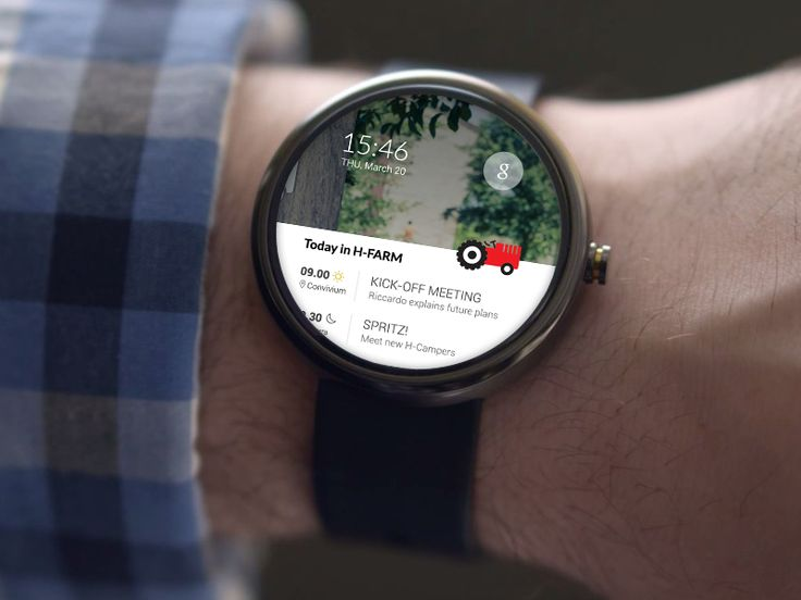 H-Farm Android Wear