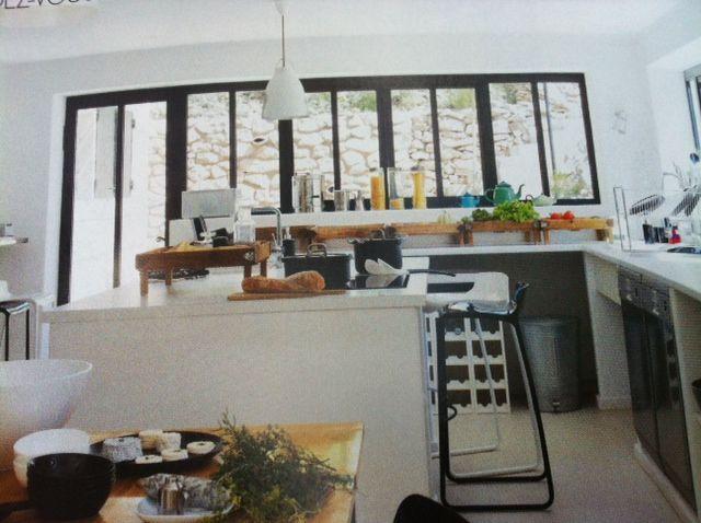 fenetres style atelier cuisine pinterest. Black Bedroom Furniture Sets. Home Design Ideas