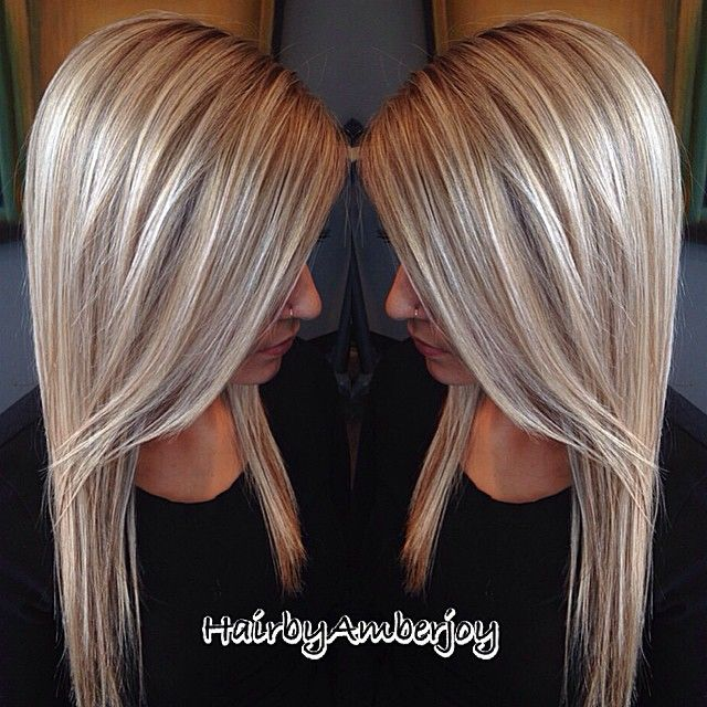 Best 25 full head highlights ideas on pinterest brown hair with we revamped this beauties hair with a base bump full head of fine highlights a shiny champagne blonde toner and fresh cut loving the soft dimension in pmusecretfo Images