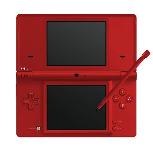 Nintendo DSi Red Handheld System w/ Charger