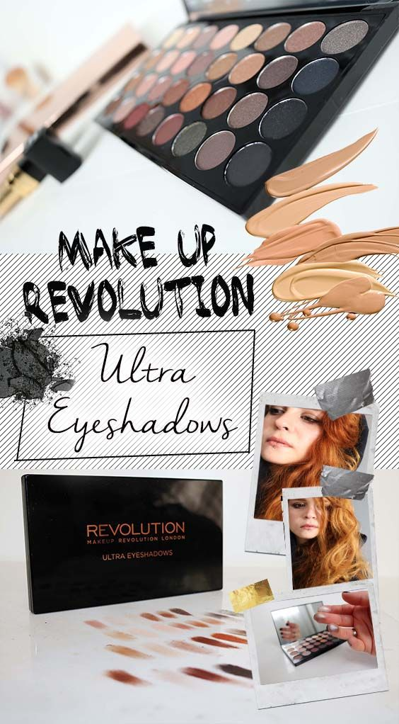 How to create a makeup capsule collection. Makeup revolution flawless ultra eyeshadow palette swatches looks and review on chelf.net