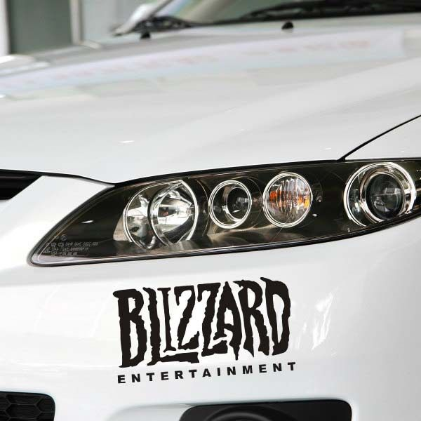 Free Shipping World Of Warcraft Game Stickers The Whole Body Car Sticker Decoration Accessor World Of Warcraft World Of Warcraft Characters Warcraft Characters