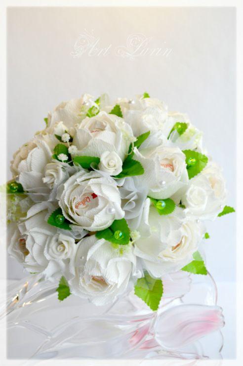 Gallery.ru / Фото #78 - Свадебные букеты, композиции из конфет. Wedding bouquets and - larin-dobro