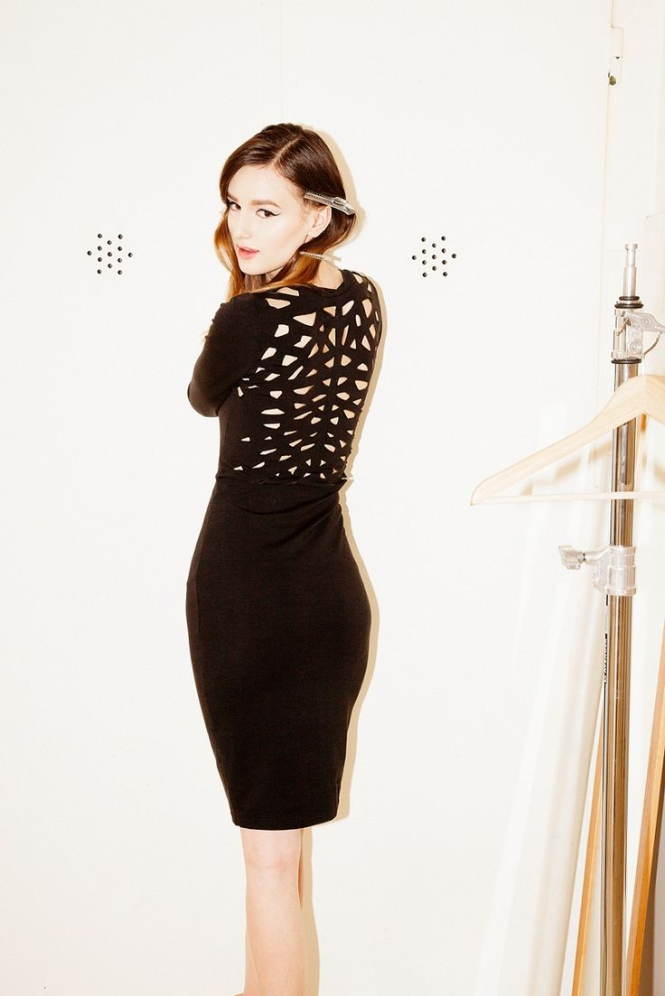 The Perforated Dress www.murmurstore.com