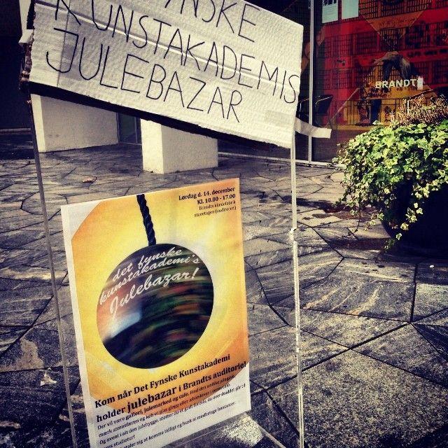 #Julebazar #DetFynskeKunstAkademi @Sandra Brandt #Odense www.thisisodense.dk/7070/det-fynske-kunstakademis-julebazar-2013