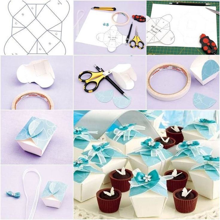 DIY Simple Cute Gift Box | GoodHomeDIY.com Follow Us on Facebook --> https://www.facebook.com/pages/Good-Home-DIY/438658622943462?ref=hl
