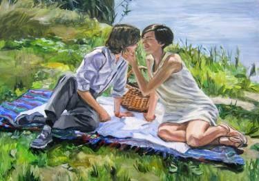 "Saatchi Art Artist Helena Janecic; Painting, ""Human nature"" #art"