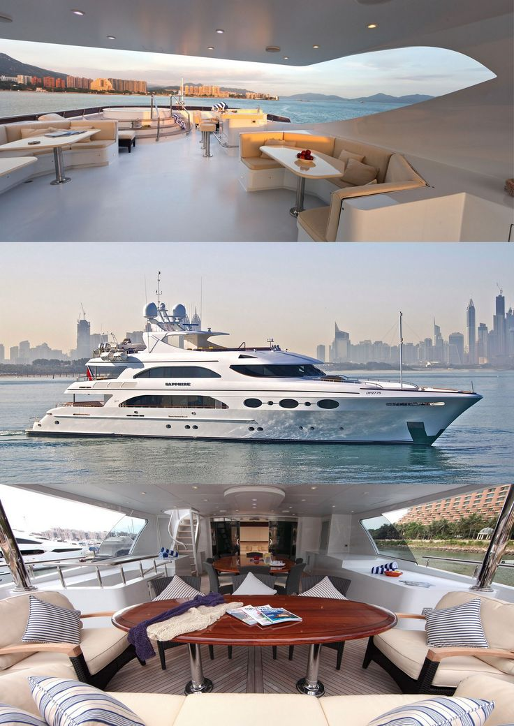 Sapphire ~ 2009 Trinity Luxury Yacht