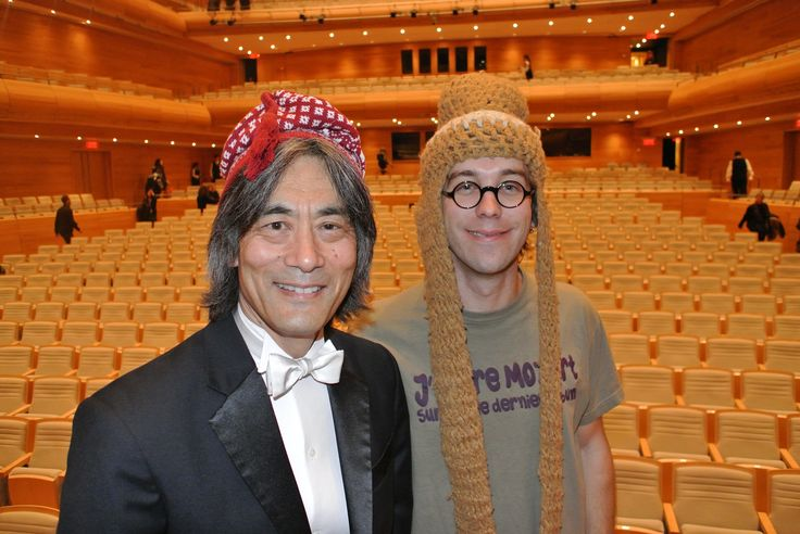 Maestro Nagano et Fred Pellerin