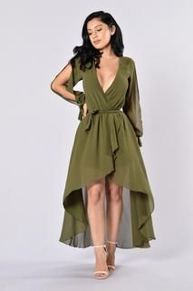 Missy Dress - Olive