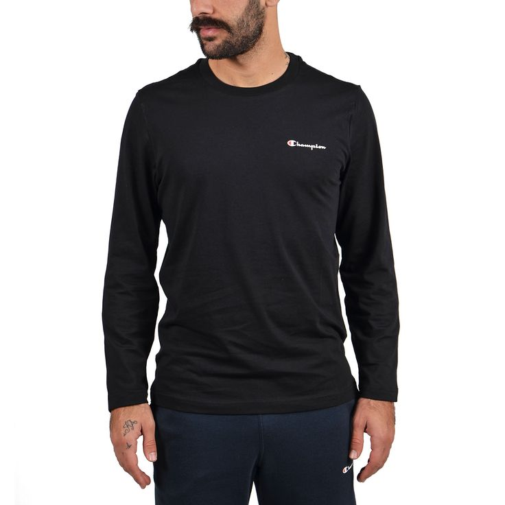Champion Long Sleeve Crewneck T-Shirt Αθλητικα Ρουχα – Sportswear – Ανδρικά Διατίθεται από το CosmosSport.gr