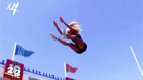 cheerleading basket toss - Google Search