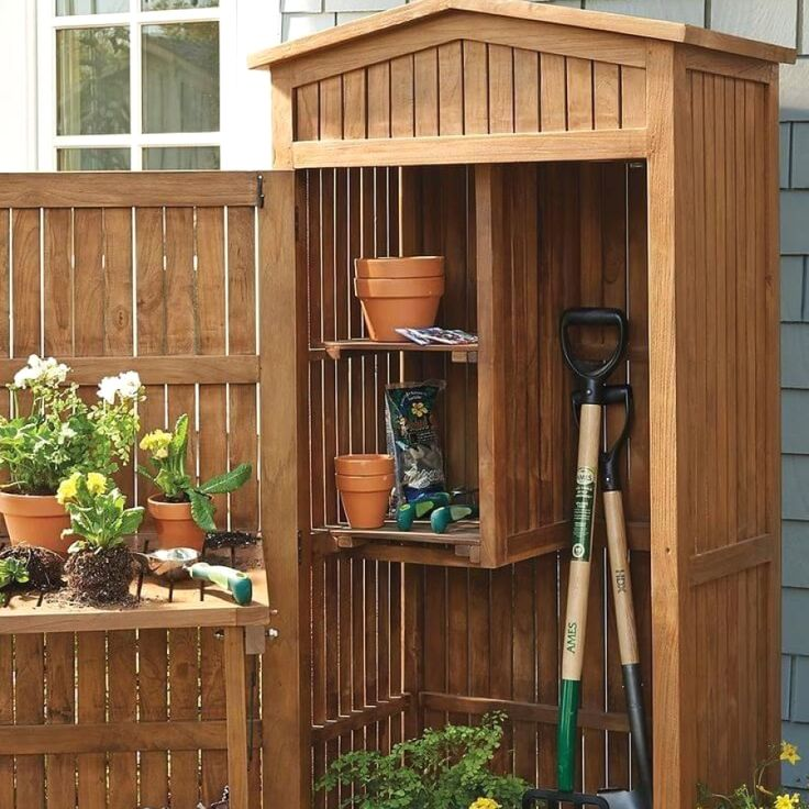 Awesome Garden Shed Transformation Designs For Your Garden
