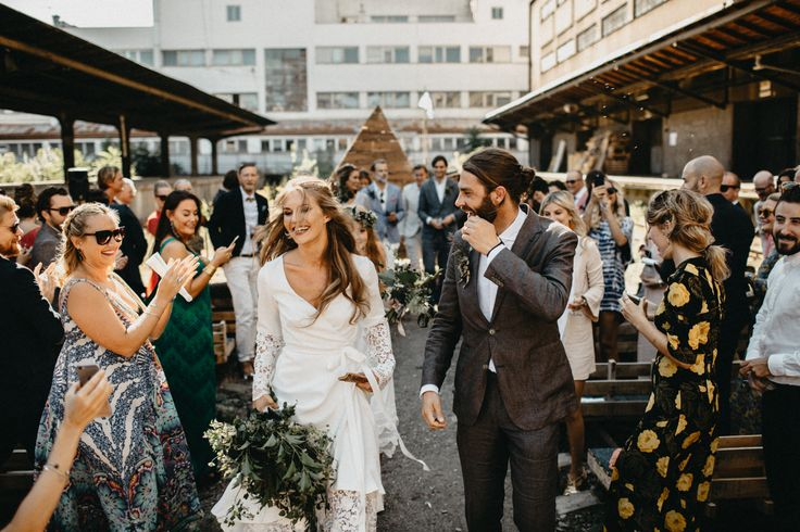 What Happens When a Swedish Couple Gets Married in a Train Station in Prague? | Photo Credit: Lukas Korynta & Eliska Kubikova