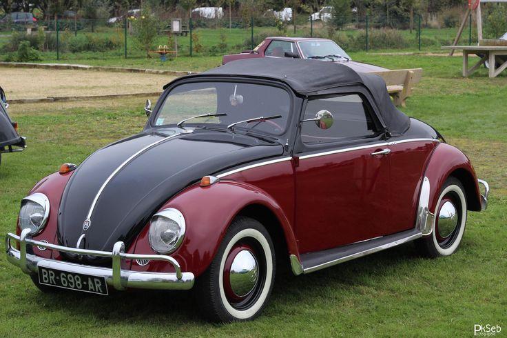 Volkswagen Coccinelle cabriolet Ostermann - 1965 | Authentique et rare coccinelle cabriolet Ostermann de 1965 (très peu d'exemplaires véritables - de 500 réalisés par le carrossier autrichien qui officia aussi sur trabant) cet exemplaire est le 079 si quelqu'un connait le nombre d'exemplaire produit, peu de source à ce sujet.