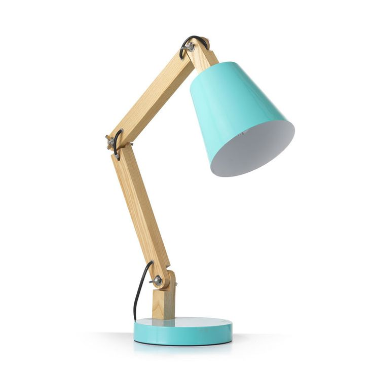 Tully Desk Lamp Blue – Black Mango