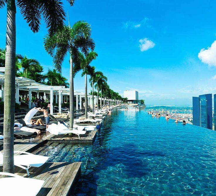 Marina Bay Sands Singapore Pool Identities Ideas