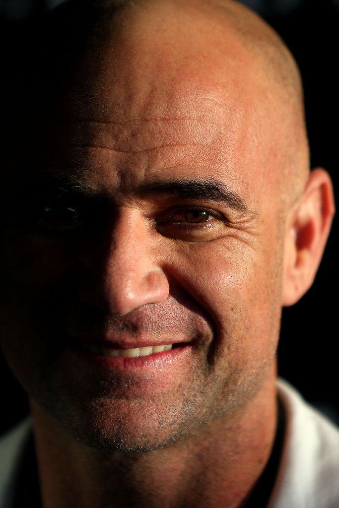 Andre Agassi - Andre Agassi Attends Open Film Series