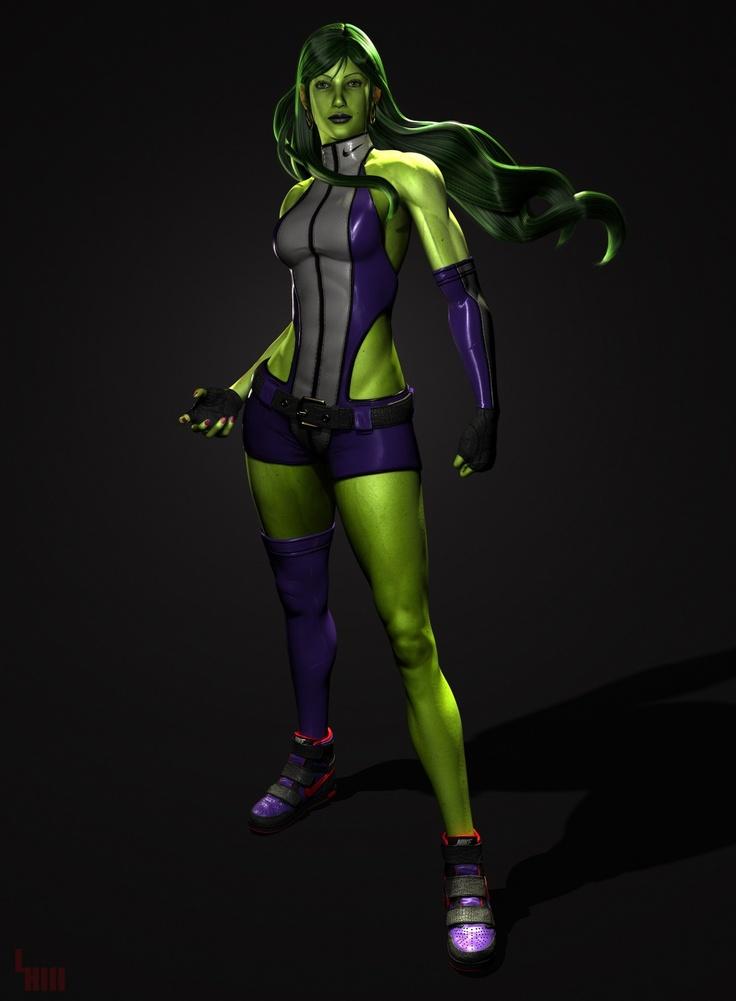 Sideshow's Adi Granov Artist Series She-Hulk statue ...