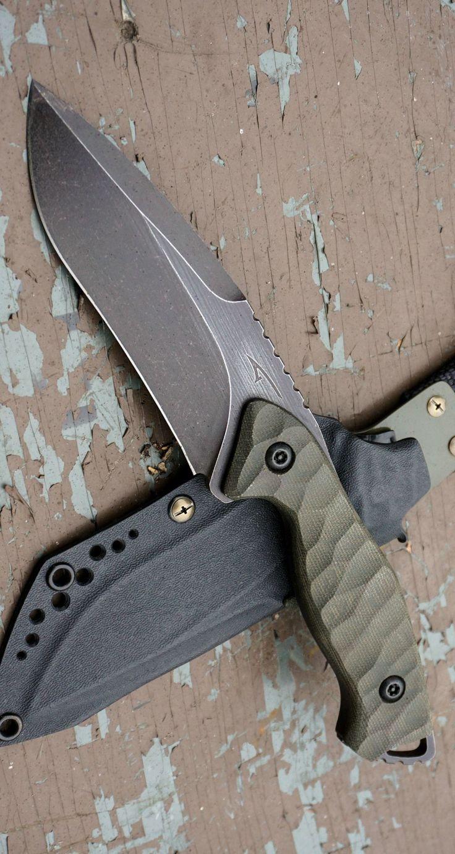 BOBAC Torbe Custom Fixed Knife Blade @aegisgears