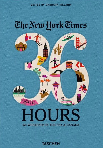 "Once a week since 2002 The New York Times has offered detailed itineraries for dream weekend escapes in its ""36 Hours"" column. Now 150 North American destinations have been complied into one book—making the perfect present for planning future romantic weekends away. The book is available on Amazon for $24."