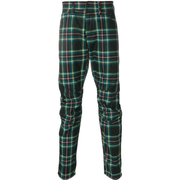 G-Star Raw tartan trousers ($127) ❤ liked on Polyvore featuring men's fashion, men's clothing, men's pants, men's casual pants, green, colorful mens pants, mens green pants, mens tartan pants, mens plaid pants and mens tartan plaid pants