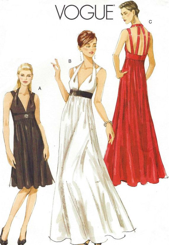MISSES' DRESS: Lined dress, close-fitting at bust, has bodice extending into straps and neck band. Flared skirt is gathered into midriff band, back