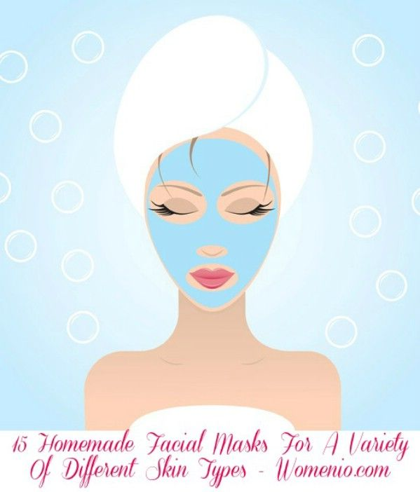 15 Homemade Facial Masks For A Variety Of Different Skin Types #DIY #skincare #b… 15 Homemade Facial Masks For A Variety Of Different Skin Types <a class=