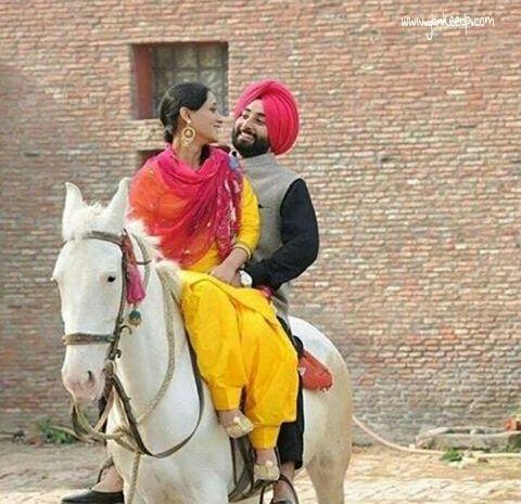 beautiful punjabi couples preweeding shoot