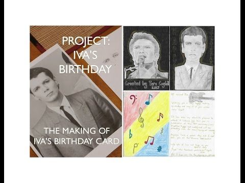 PROJECT: IVA'S BIRTHDAY!! - THE MAKING OF IVA'S BIRTHDAY CARD - YouTube