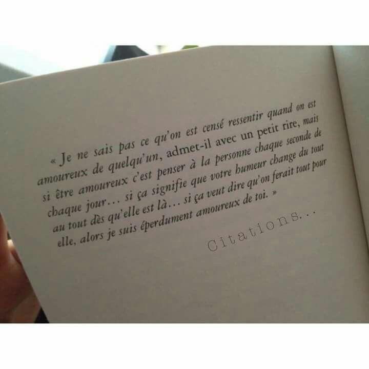 """Heureusement que de beaux textes nous ramènent à une rêverie plus romantique, celui ci est particulièrement """"joli"""""""