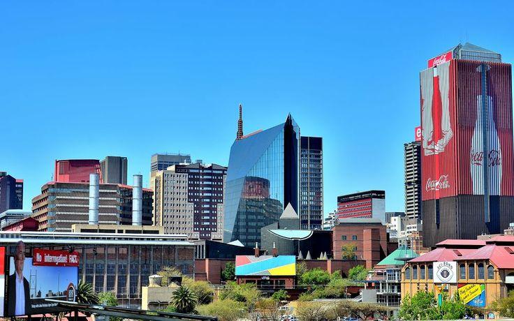Downtown Johannesburg by alexiusvanderwesthuizen