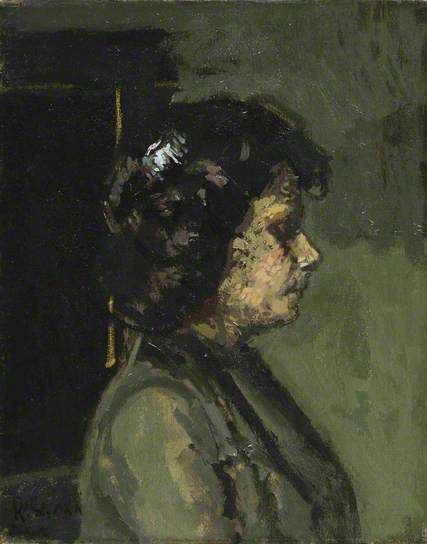Mrs Barrett by Walter Richard Sickert Courtauld Gallery