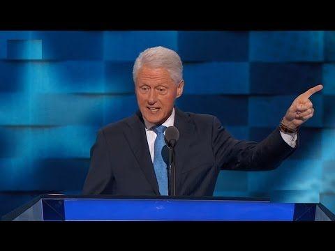 Full Speech: Bill Clinton Speech at Democratic National Convention (July 26, 2016) DNC Philadelphia - YouTube