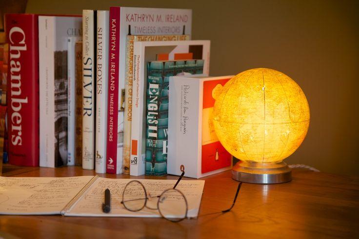 A 30's globe lamp