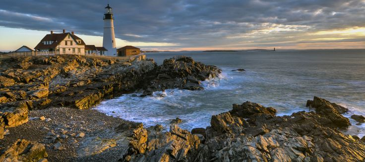 Kennebunkport, ME #new #england #town #sea #lighthouse