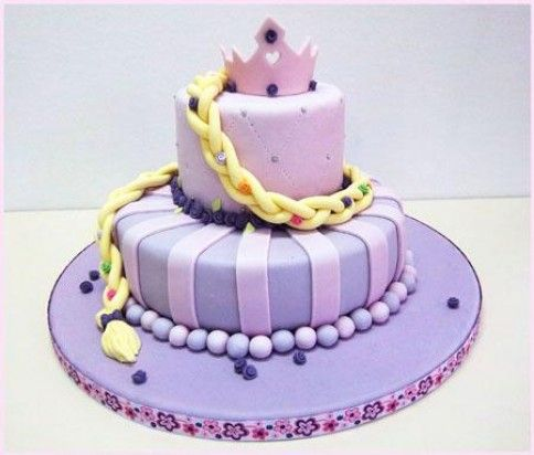 TORTA RAPUNZEL | Tortas modelos | Pinterest | Bodas y Rapunzel