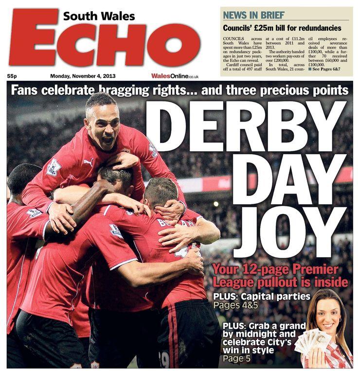 Cardiff City v Swansea City, 2013/14 Premier League, November 3rd 2013, Cardiff City Stadium